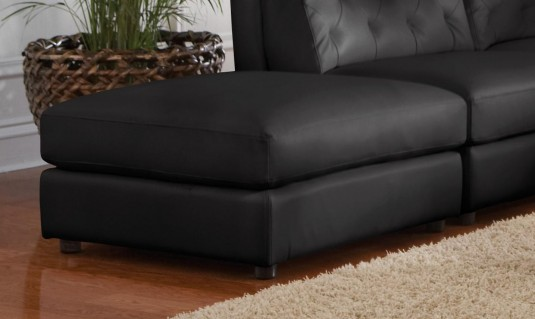 Coaster Quinn Black Storage Ottoman Available Online in Dallas Fort Worth Texas