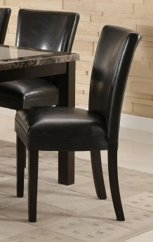 Coaster Carter Black Side Chair Available Online in Dallas Fort Worth Texas