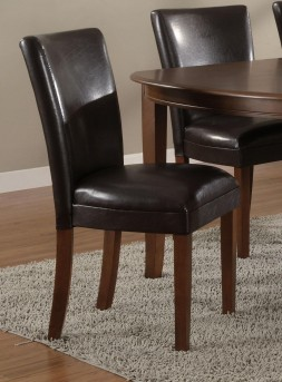 Soho Parson Brown Side Chair Available Online in Dallas Fort Worth Texas