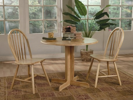 Damen Round Pedestal Table Available Online in Dallas Texas