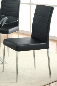 Coaster Vance Black Side Chair Available Online in Dallas Fort Worth Texas