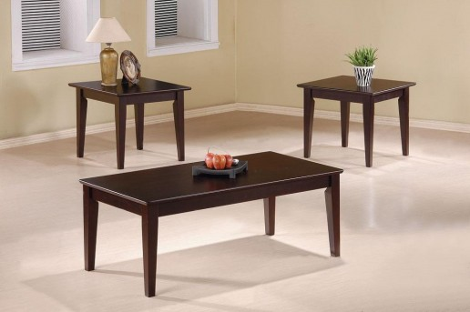 Coaster San Martin 3pc Coffee Table Set Available Online in Dallas Fort Worth Texas