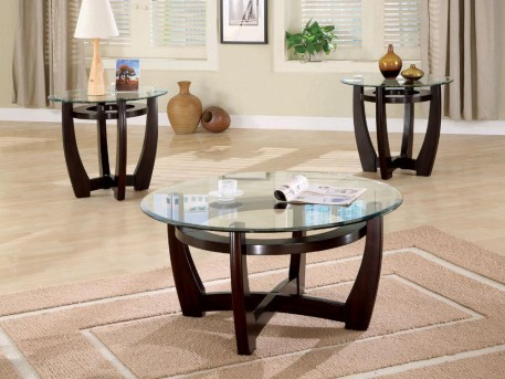 Coaster Johnson 3pc Coffee Table Set Available Online in Dallas Fort Worth Texas
