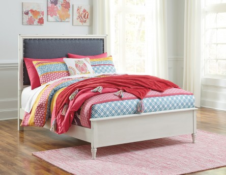 Ashley Faelene Full Upholstered Panel Bed Available Online in Dallas Fort Worth Texas