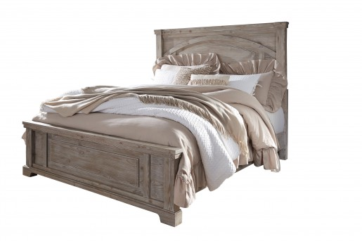Ashley Charmyn King Panel Bed Available Online in Dallas Fort Worth Texas