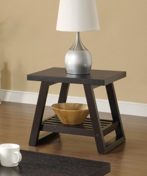 Coaster Cocoa Red End Table Available Online in Dallas Fort Worth Texas