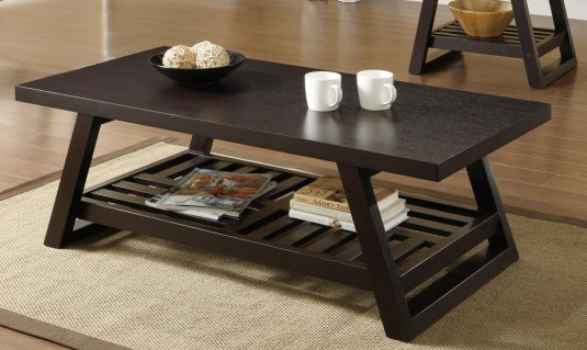 Coaster Cocoa Red Coffee Table Available Online in Dallas Fort Worth Texas