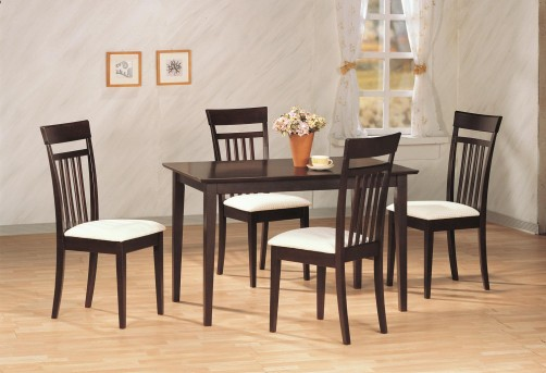 Coaster Andrews 5pc Dining Room Set Available Online in Dallas Fort Worth Texas