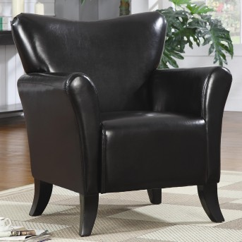 Coaster Sturdy Black Accent Chair Available Online in Dallas Fort Worth Texas