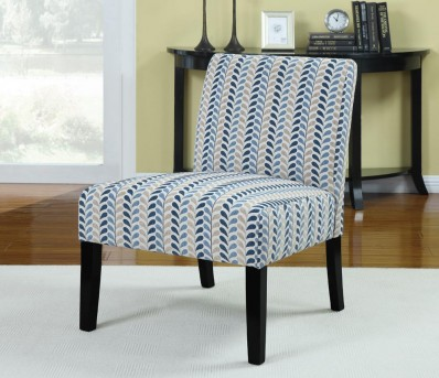 Coaster Finley Blue Accent Chair Available Online in Dallas Fort Worth Texas