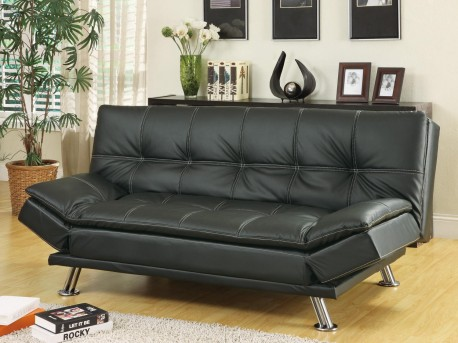 Coaster Dilleston Black Sofa Bed Available Online in Dallas Fort Worth Texas