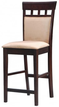 Gabriel Cappuccino Padded Back Counter Chair Available Online in Dallas Texas