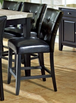 SteveSilver Monarch Black Counter Parsons Chair Available Online in Dallas Fort Worth Texas