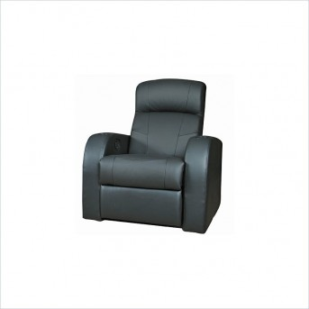 Cyrus Leather Media Recliner Available Online in Dallas Fort Worth Texas