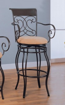 Coaster Kenton Swivel Barstool Available Online in Dallas Fort Worth Texas