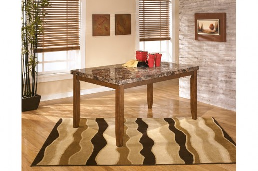 Ashley Lacey Rectangular Dining Table Available Online in Dallas Fort Worth Texas