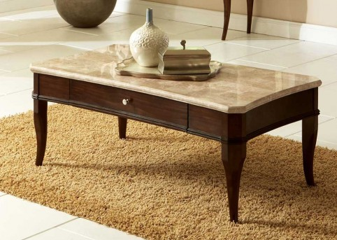 Marseille Marble Top Coffee Table Available Online in Dallas Fort Worth Texas