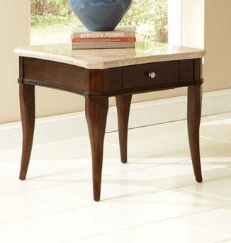 Marseille Marble Top End Table Available Online in Dallas Texas