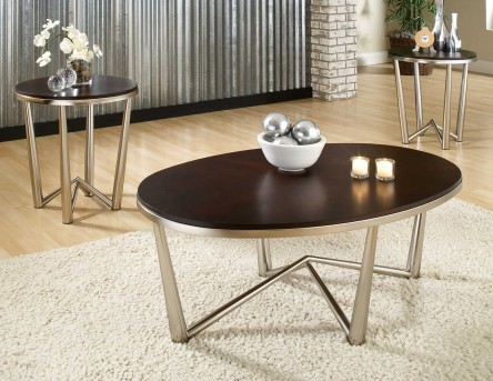 SteveSilver Cosmo 3pc Coffee Table Set Available Online in Dallas Fort Worth Texas