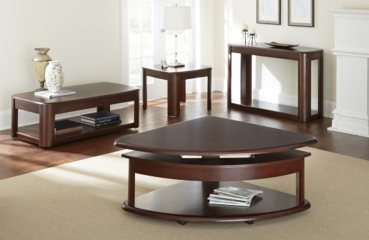 Lidya Corner Wedge Lift-Top Cocktail Table Available Online in Dallas Fort Worth Texas