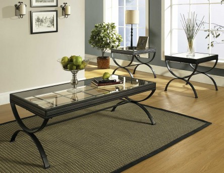 SteveSilver Emerson 3 Pack Coffee Table Set Available Online in Dallas Fort Worth Texas