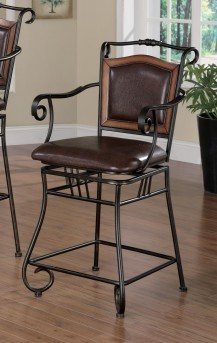 Coaster Oswego Swivel Barstool Available Online in Dallas Fort Worth Texas