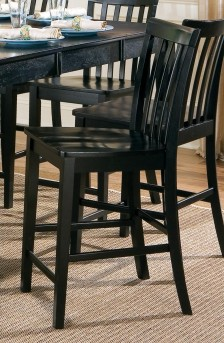 Roxton Black Counter Height Chair Available Online in Dallas Fort Worth Texas