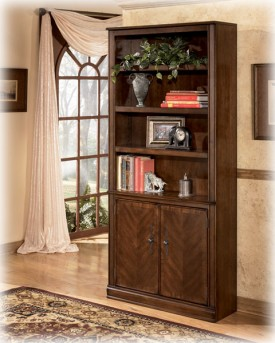 Ashley Hamlyn Large Door Bookcase Available Online in Dallas Fort Worth Texas
