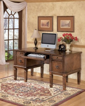 Ashley Hamlyn Home Office Storage Leg Desk Available Online in Dallas Fort Worth Texas