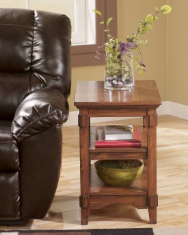 Ashley Cross Island Chair Side Table Available Online in Dallas Fort Worth Texas