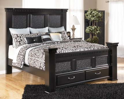 Cavallino Queen Footboard Storage Box Available Online in Dallas Fort Worth Texas