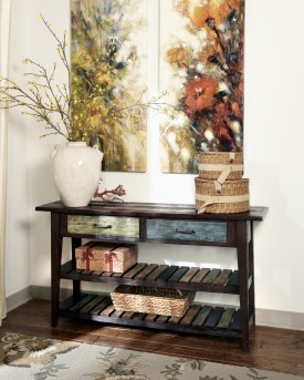 Mestler Sofa Table Available Online in Dallas Fort Worth Texas