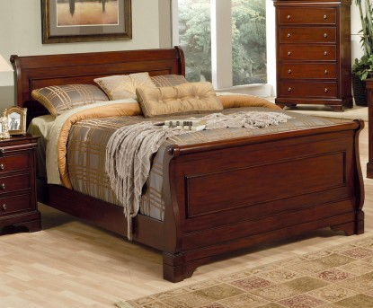 Coaster Chesterville Queen Sleigh Bed Available Online in Dallas Fort Worth Texas