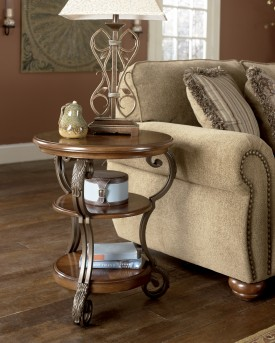 Ashley Nestor Chair Side Table Available Online in Dallas Fort Worth Texas