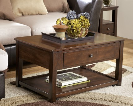 Ashley Marion Lift Top Cocktail Table Available Online in Dallas Fort Worth Texas