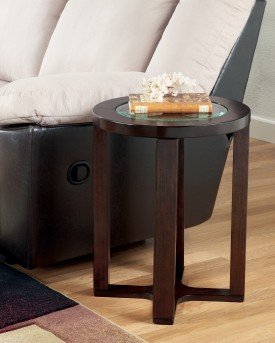 Ashley Marion Round End Table Available Online in Dallas Fort Worth Texas