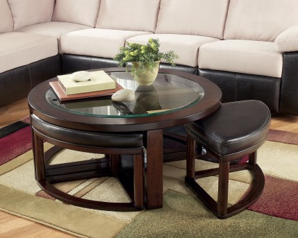Ashley Marion Cocktail Table with 4 Stools Available Online in Dallas Fort Worth Texas