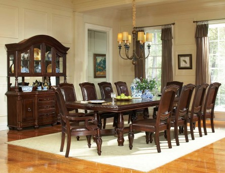 SteveSilver Antoinette 9pc Dining Room Set Available Online in Dallas Fort Worth Texas