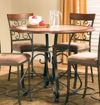 SteveSilver Thompson Counter Table Base Available Online in Dallas Fort Worth Texas