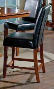 SteveSilver Plato Black Counter Chair Available Online in Dallas Fort Worth Texas