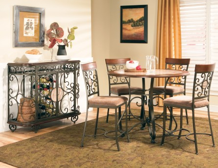 SteveSilver Thompson Counter Table Available Online in Dallas Fort Worth Texas