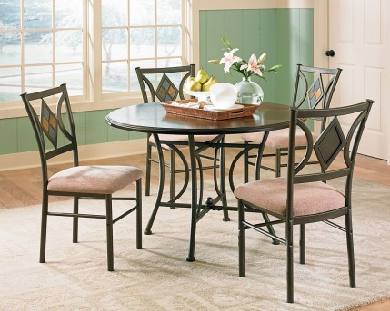 SteveSilver Tacoma 5PC Dining Room Set Available Online in Dallas Fort Worth Texas