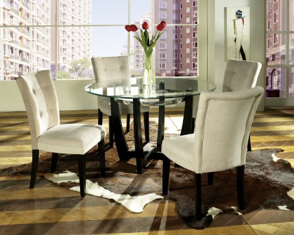 SteveSilver Matinee Dining Table Top Glass Available Online in Dallas Fort Worth Texas
