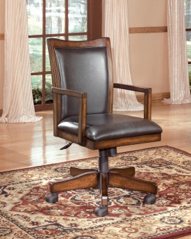 Ashley Hamlynt Office Swivel Desk Chair Available Online in Dallas Fort Worth Texas