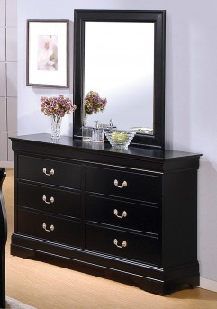 Coaster Louis Philippe Black Dresser Available Online in Dallas Fort Worth Texas