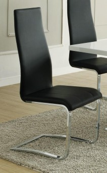 Coaster Nameth Black Side Chair Available Online in Dallas Fort Worth Texas