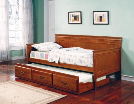 Coaster Louis Philippe Oak Twin Daybed Available Online in Dallas Fort Worth Texas