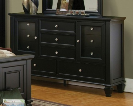 Coaster Sandy Beach Black Dresser Available Online in Dallas Fort Worth Texas