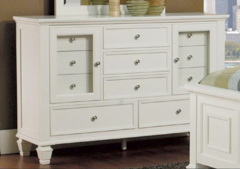 Coaster Sandy Beach White Dresser Available Online in Dallas Fort Worth Texas
