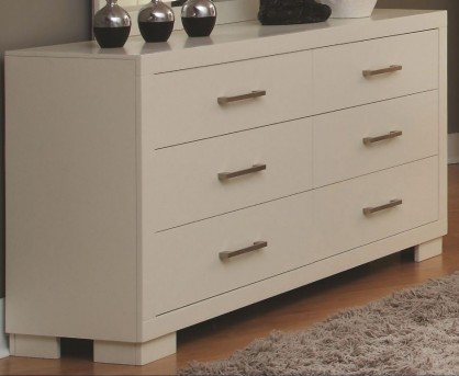 Coaster Jessica White Dresser Available Online in Dallas Fort Worth Texas